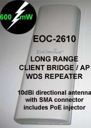 long range google WiFi modem 600mW EnGenius EOC-2610