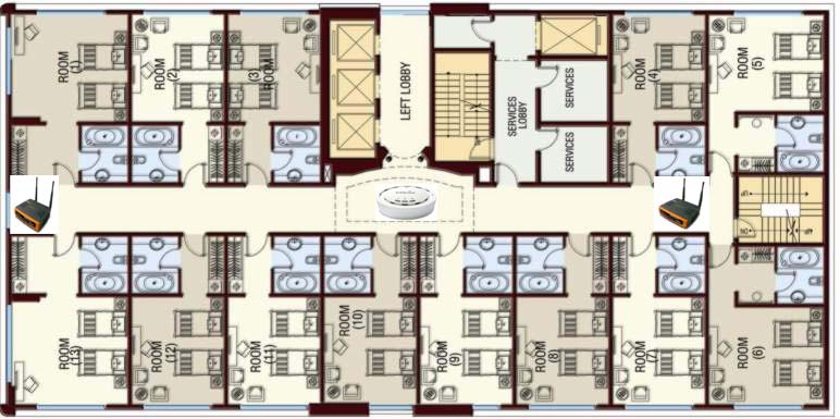 Deploying wifi in the hospitality industry including - Room layout planner free ...