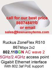 Ruckus R510 802 11ac wave 2 access point